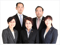 牧野法律事務所の弁護士5名