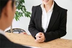 女性弁護士による丁寧な対応