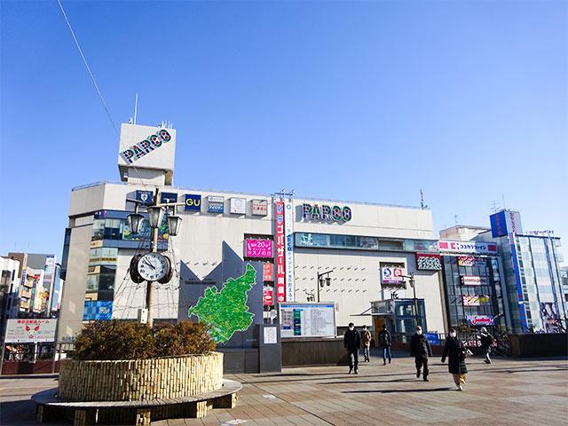 JR津田沼駅北口方面PARCO